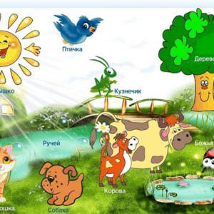 Интерактивная светозвуковая панель «Природный мир»