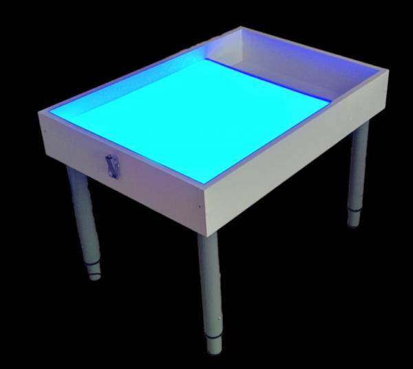 Световой стол с проекцией на экран