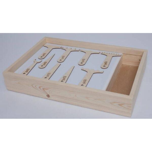 Набор инструментов для песочной терапии