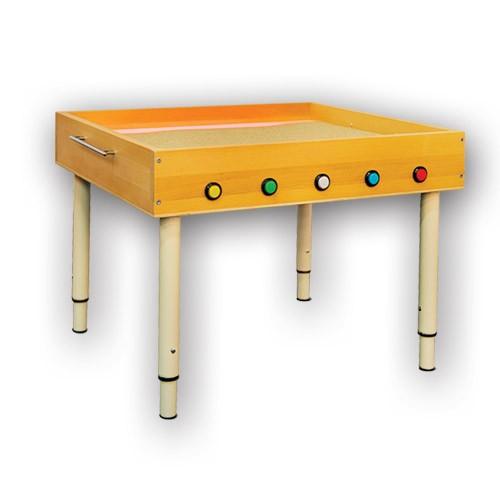 Световой стол для рисования песком на кнопках.