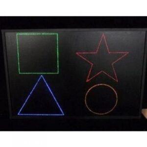 Панель «Цветные фигуры»