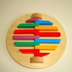 """Тактильно-развивающая игрушка """"Трещотка"""""""