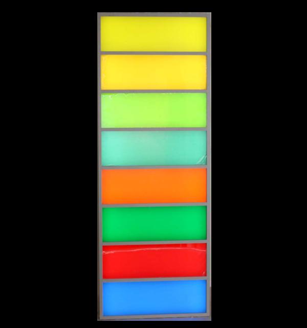 """Светозвуковая развивающая панель для сенсорной комнаты """"Дорожка восемь ячеек"""""""